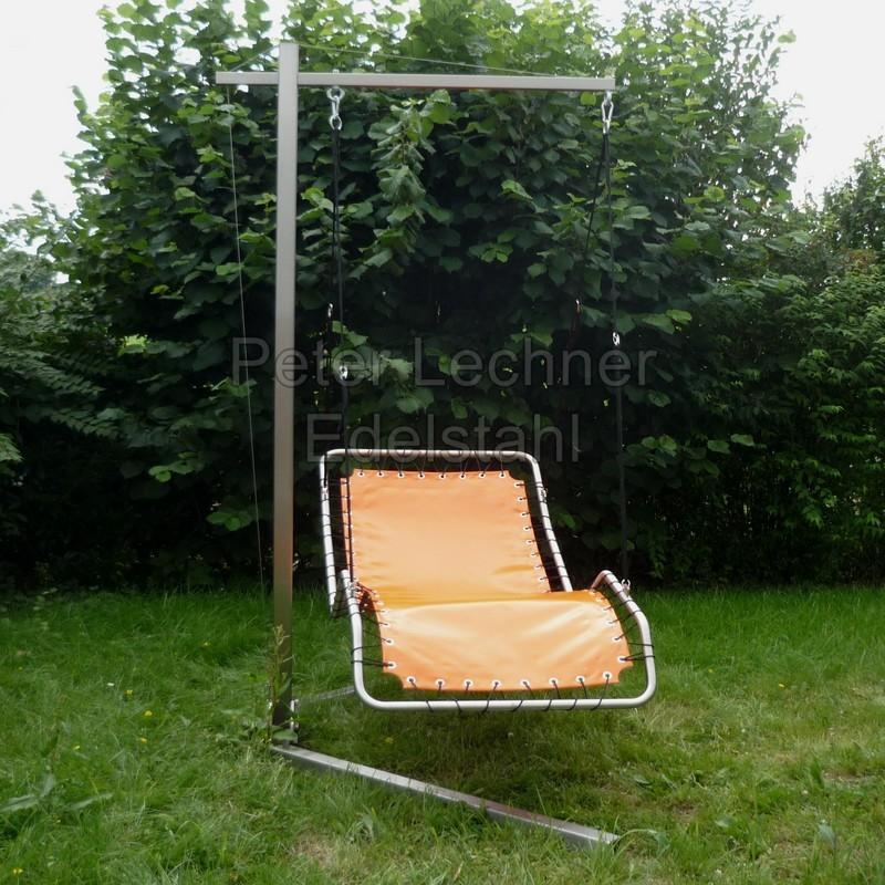 h ngeliege edelstahl orange divano lecado edelstahl design. Black Bedroom Furniture Sets. Home Design Ideas