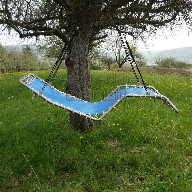 h ngeliege edelstahl himmelblau azur lecado edelstahl design. Black Bedroom Furniture Sets. Home Design Ideas